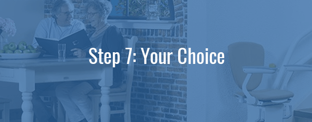 Choose Your Stairlift