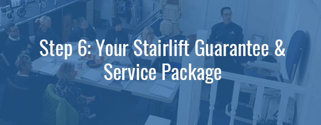 Stairlift Guarantee and Service
