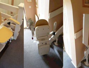 Curved Stairlift Installation